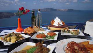 santorini traditional food