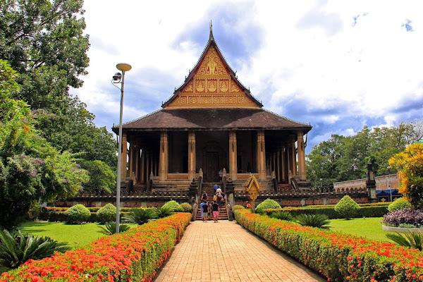 Ho Phra Keo Templo em Vientiane