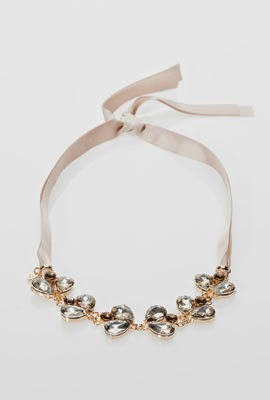 Massimo Dutti collar cristales