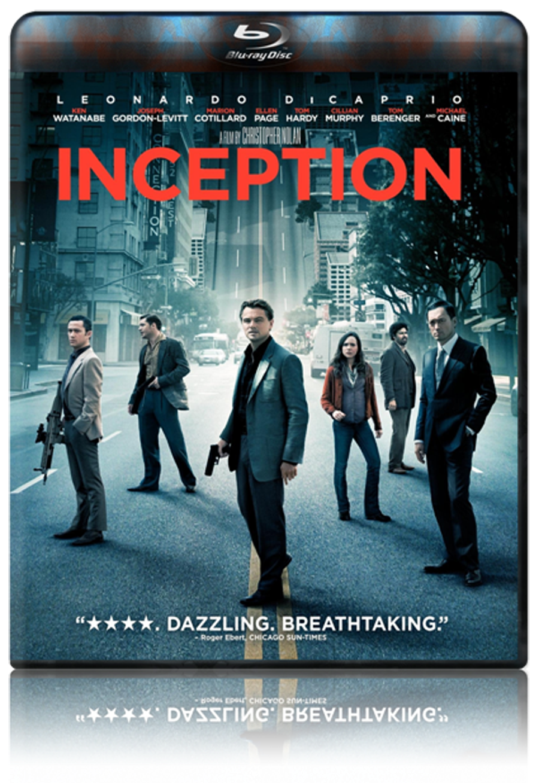 Inception Blu-ray Dvd
