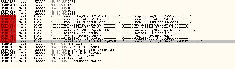 waliedassar: Visual Basic Malware - Part 1