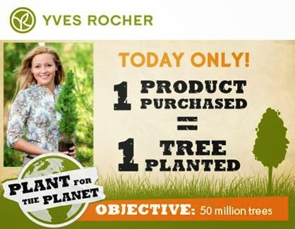 Earth Day with Yves Rocher