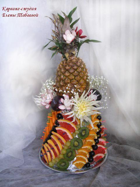 композиция с ананасом