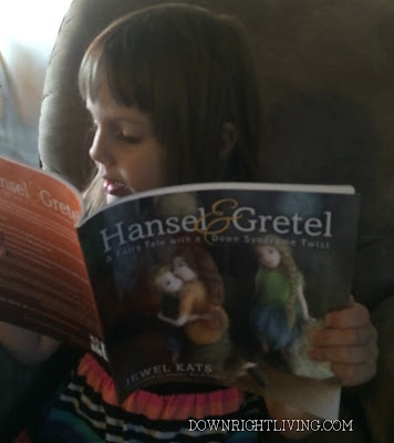 Hansel & Gretel Children's book with Down syndrome