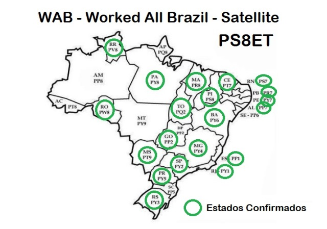 Worked All Brazil Satellite