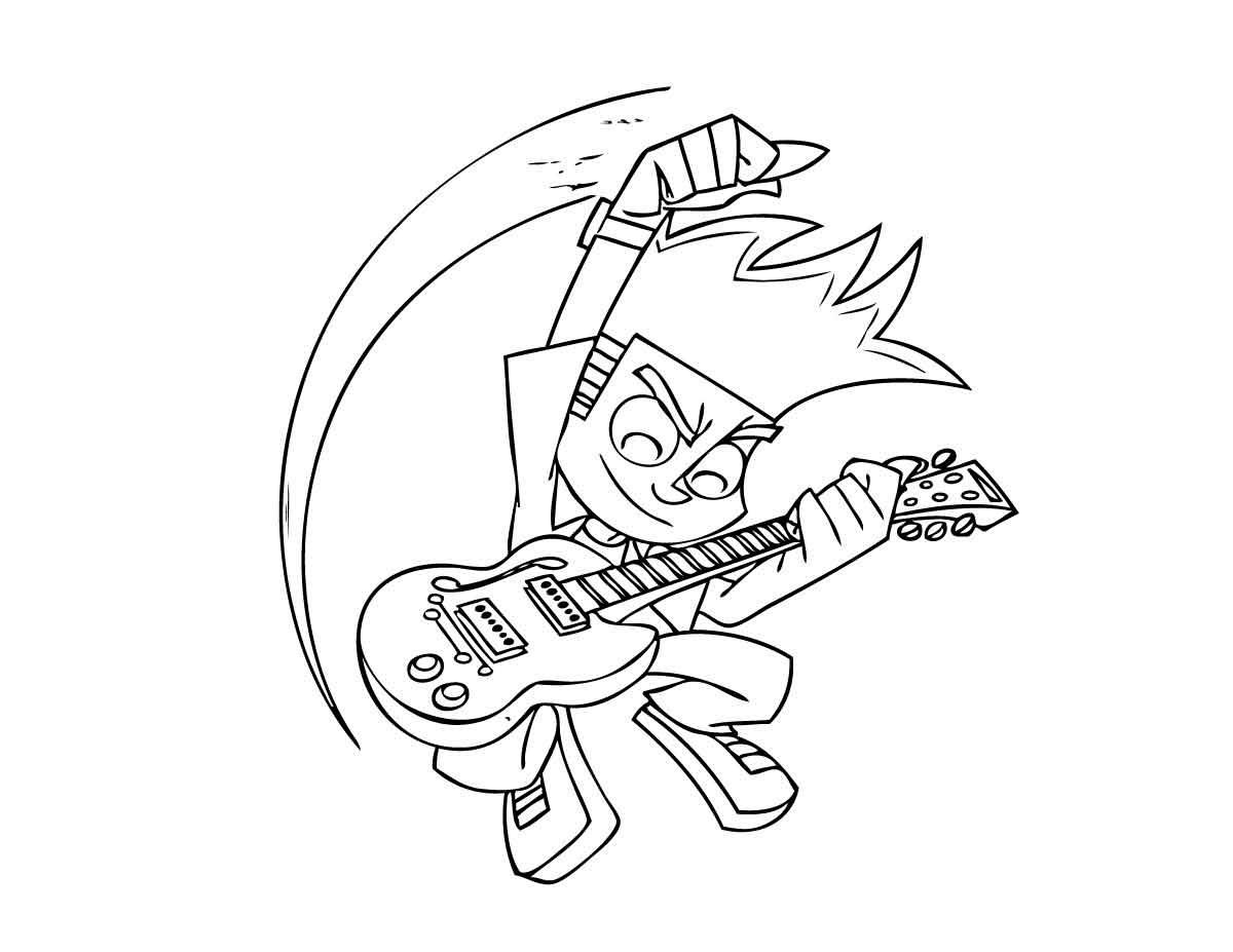 Desenhos para Colorir e Imprimir: Desenhos do Johnny Test ...