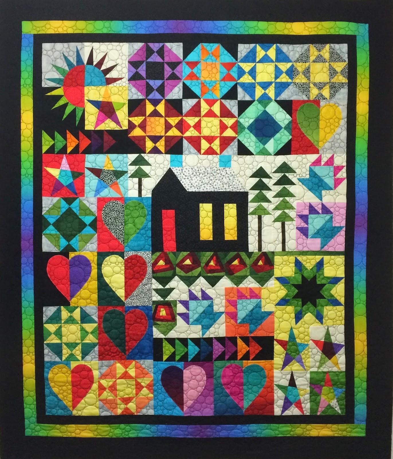 Leanne Strum Schoolhouse Quilt