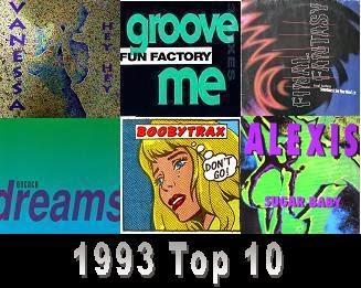 1993 Top 10 zene szubjektív