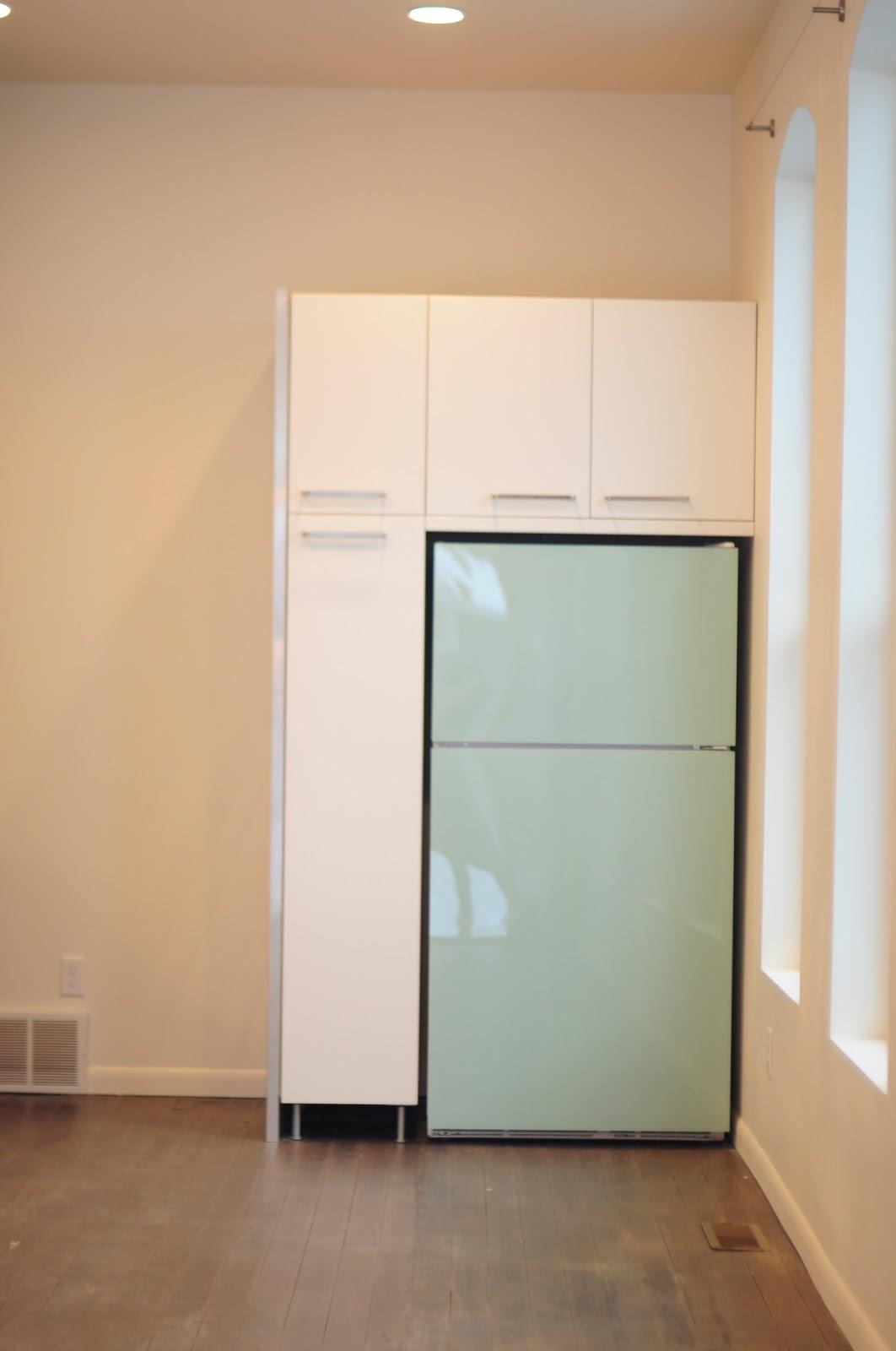 Diy Painted Plexiglass Refrigerator Panels