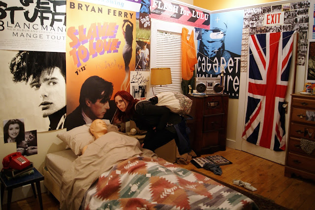 Life Moves Fast (Ferris Beuller's Bedroom) by The Racket Club from Come Up To My Room (CUTMR2016) at Gladstone Hotel in Toronto, Ontario, Canada, Culture, Art, Design, The Purple Scarf, Melanie.Ps, Artmatters