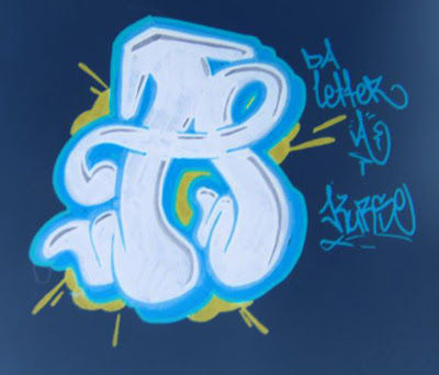 Graffiti Letters, Graffiti Letters A