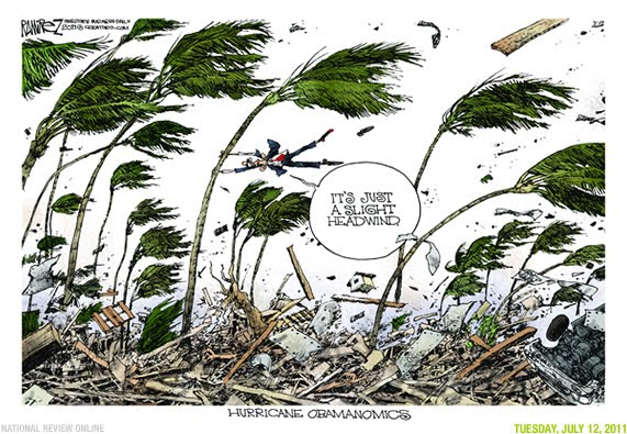 obama and headwinds cartoons