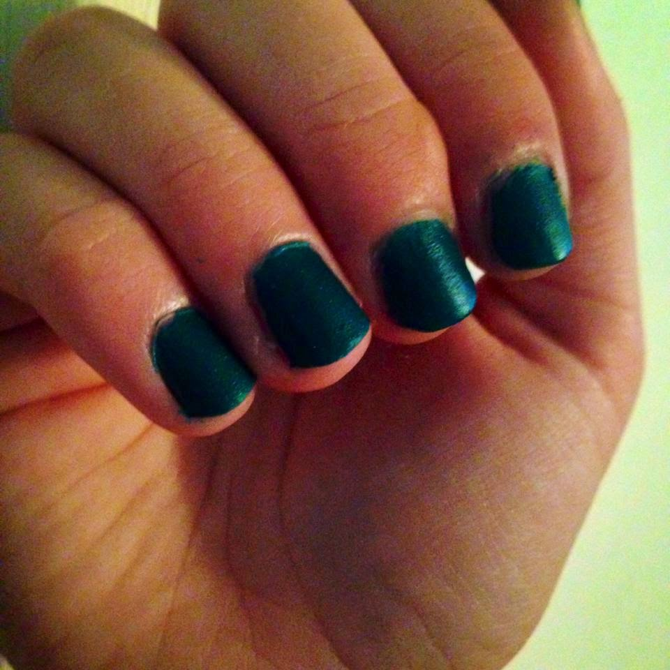 how to make matte nail polish with cornstarch