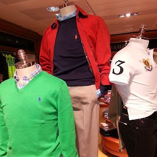 Polo Ralph Lauren, Cristina Casado Cifuentes, Visual Merchandiser, ECI, Menswear, Moda Masculina, Sportwear, Escaparates, Be Divinity,