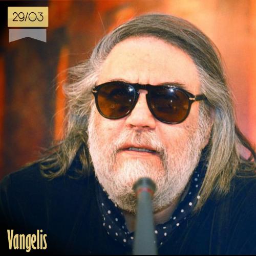 29 de marzo | Vangelis - @MusicaHoyTop | Info + vídeos