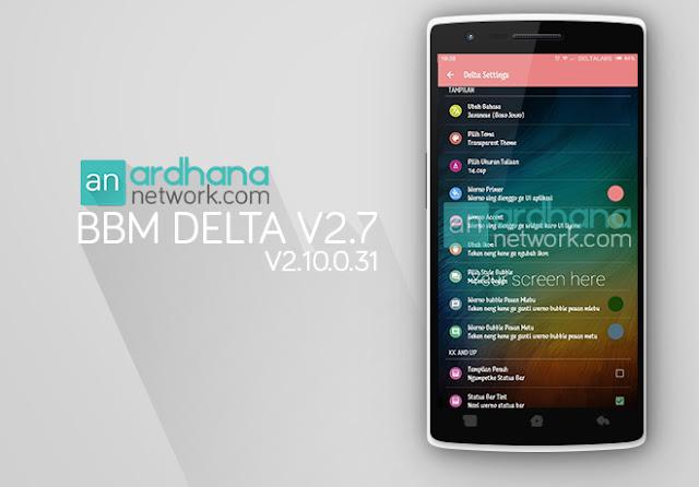 BBM Delta V2.7