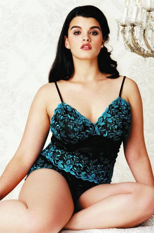 5 Sizzling Plus Size Models PART 2