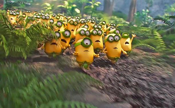 Gambar Minions 2015 Animasi Lucu Wallpaper HD Terbaru