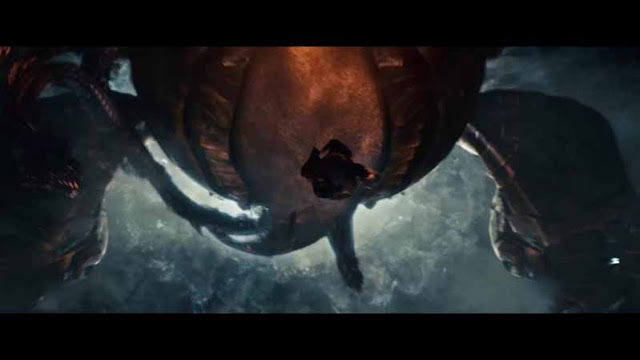 man of steel tentacle ship chase
