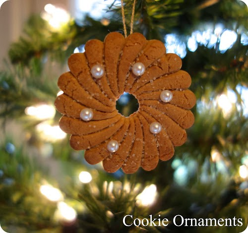 DIY Dollar Stor Cookie  Ornaments