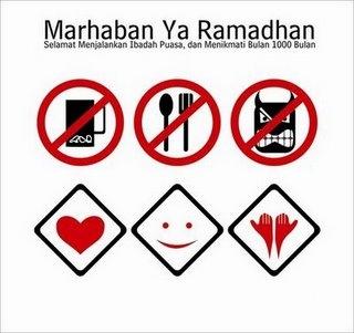 Pantun Bulan Puasa Ahlan Wa Sahlan Ya Ramadhan 1434 Hijrah / 2013 Masihi