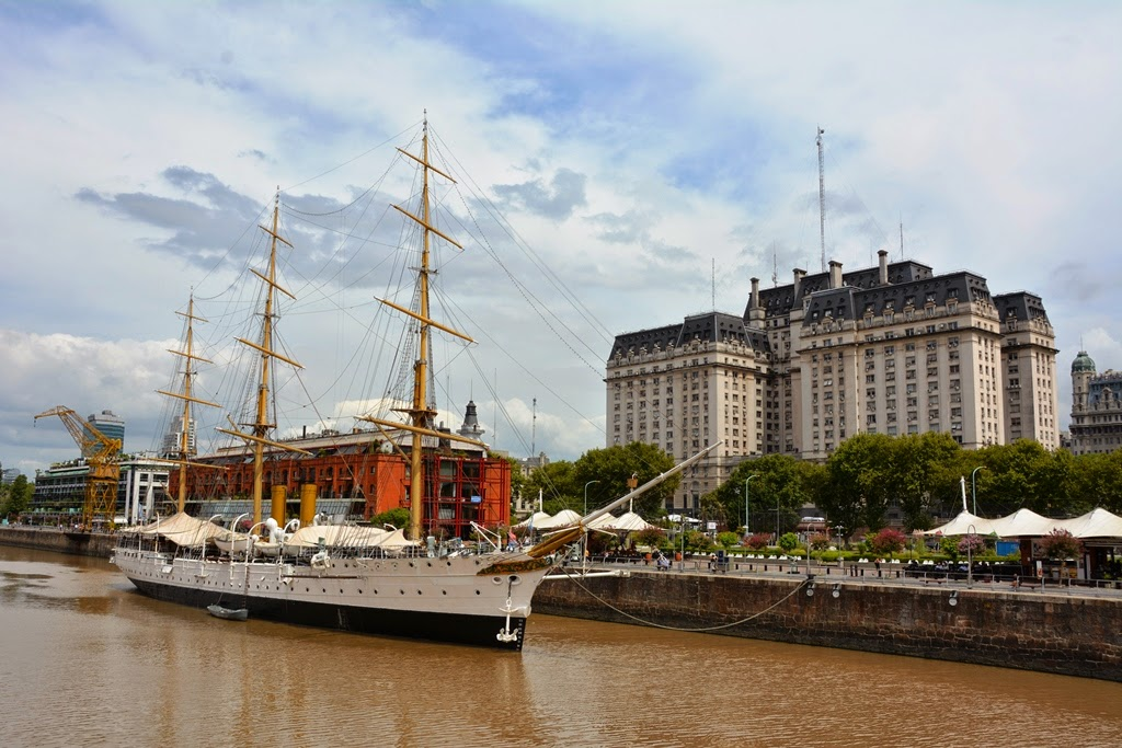 Puerto Madero Buenos Aires historical ship