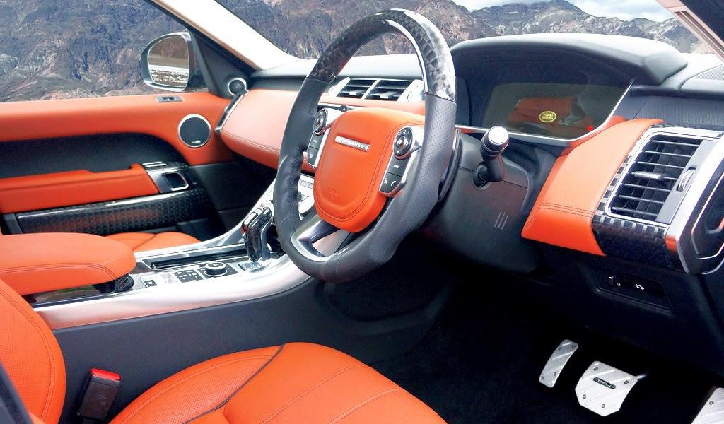 2014 Mansory Range Rover Sport Interior Wallpaper