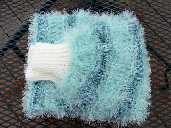Bead Knitter Gallery: Fuzzy Mint Shrug