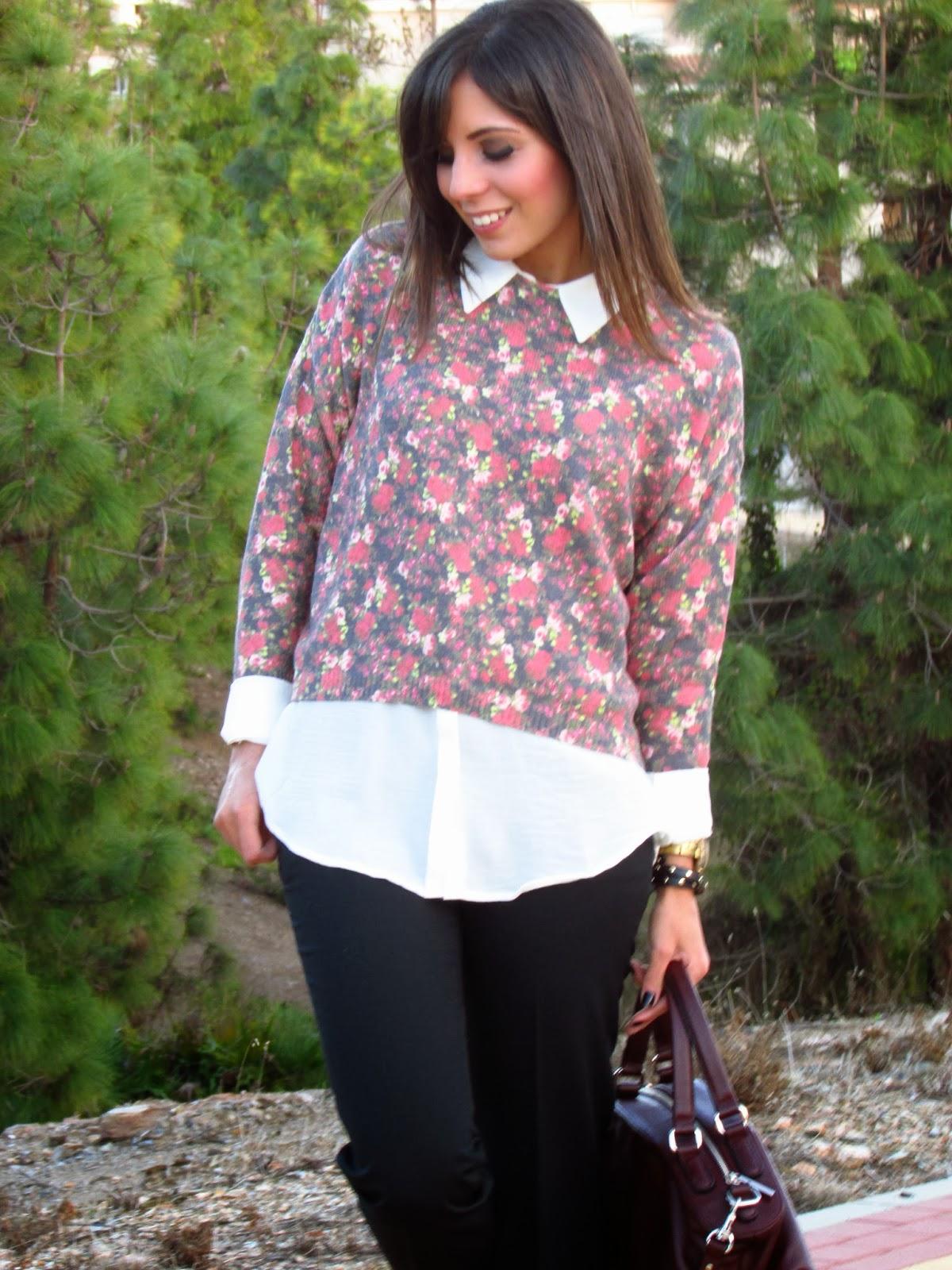 cristina style street style fashion fashion blogger malaga malagueña burgundy tendencias moda inspiration outfits looks ootd  blog