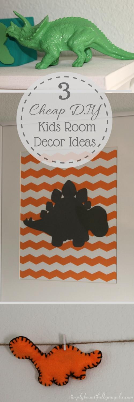 Simply Beautiful By Angela 3 Cheap Diy Kids Room Decor Ideas