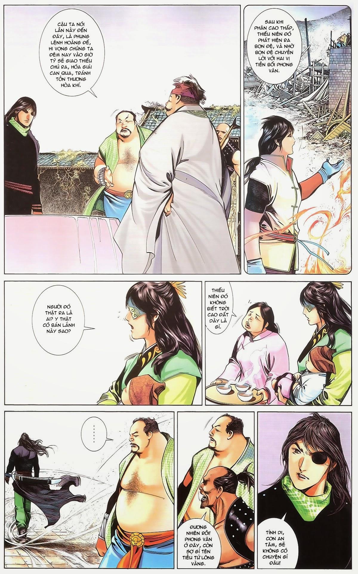 Phong Vân chap 674 – End Trang 14 - Mangak.info