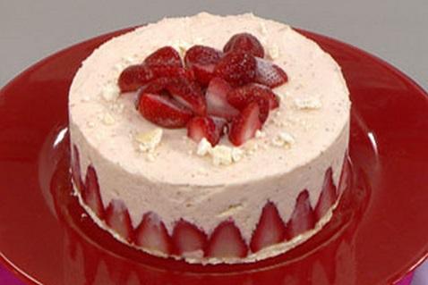Torta de fresa facil