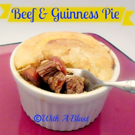 Beef & Guinness Pies www.withablast.net