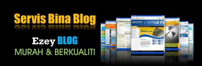Servis Bina Blog Murah dan Berkualiti