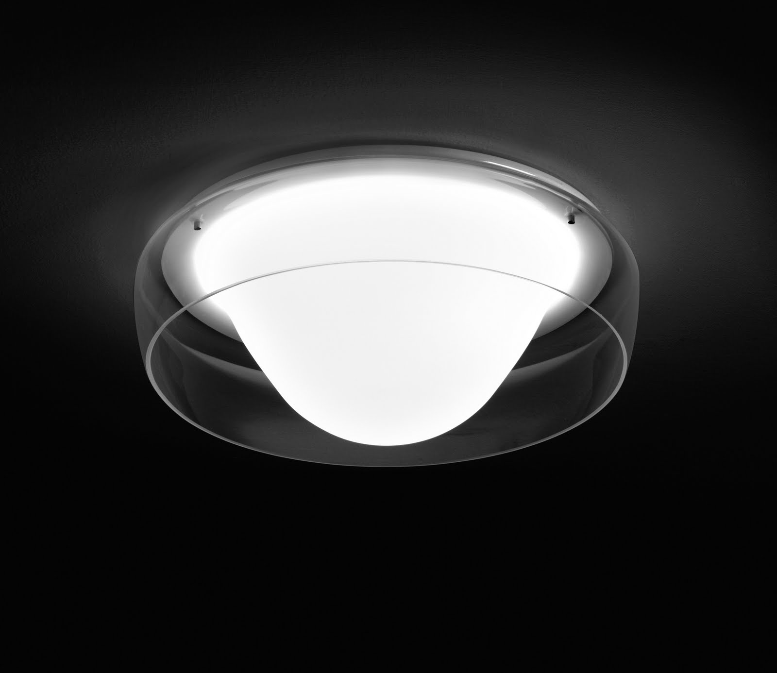 Jellyfish 40 50 60 70 glass wall ceiling light fixture for Jellyfish light fixture