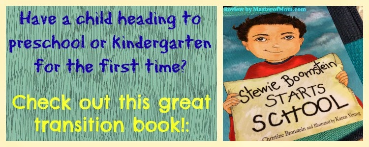 Kindergartner Preschool Transition Book Stewie Boomstein Starts School