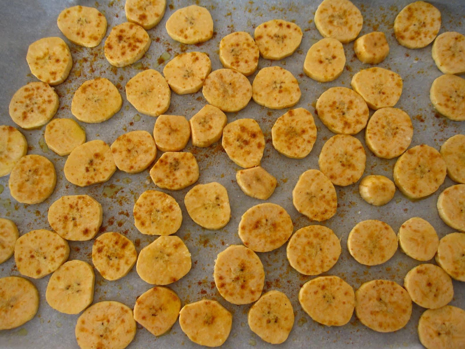 pour le plaisir de manger: bananes plantain au four