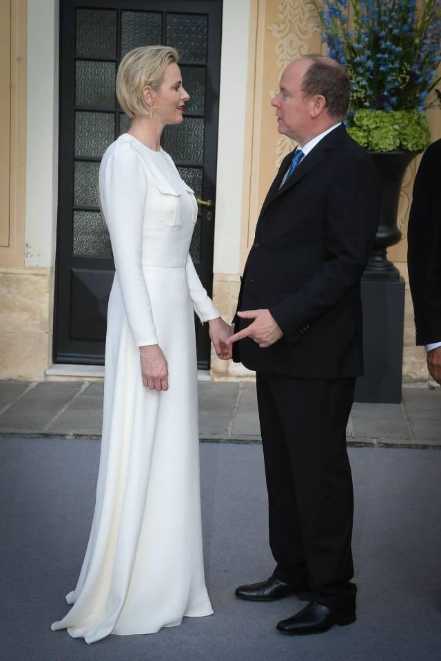 The Royal Digest: Princess Charlene\'s Glamorous Week, Princess Mary ...