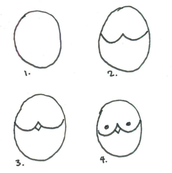 Hundreds thousands how to draw an owl for Step by step drawing an owl