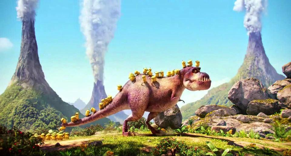 Gambar Minions 2015 Dinosaur Wallpaper HD Terbaru