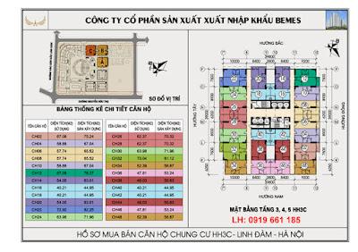 mat bang tang 3,4,5 chung cu hh3c linh dam
