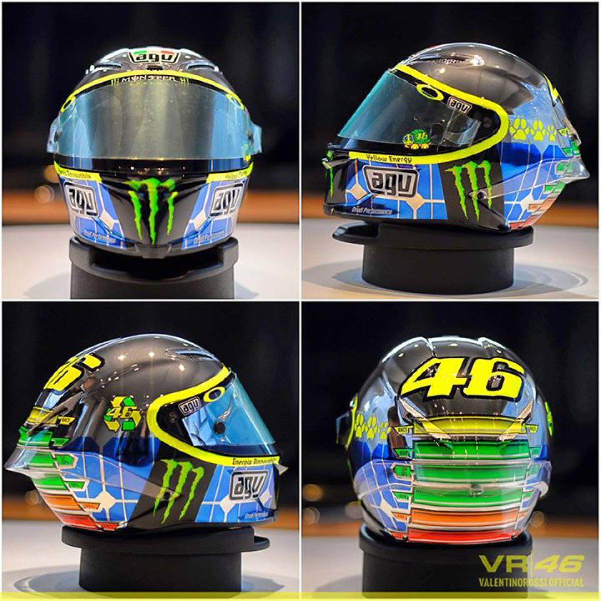 valentino rossi mugello 2015 helmet. Black Bedroom Furniture Sets. Home Design Ideas