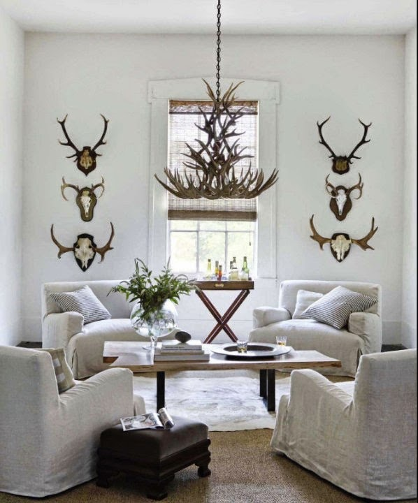 INSPIRED DESIGN Trend Watch Decorating With Antlers And