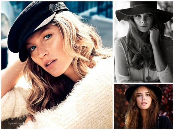 sombreros peinados 2014