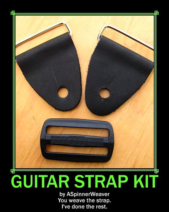 Order A Guitar Strap Kit from my Etsy shop.