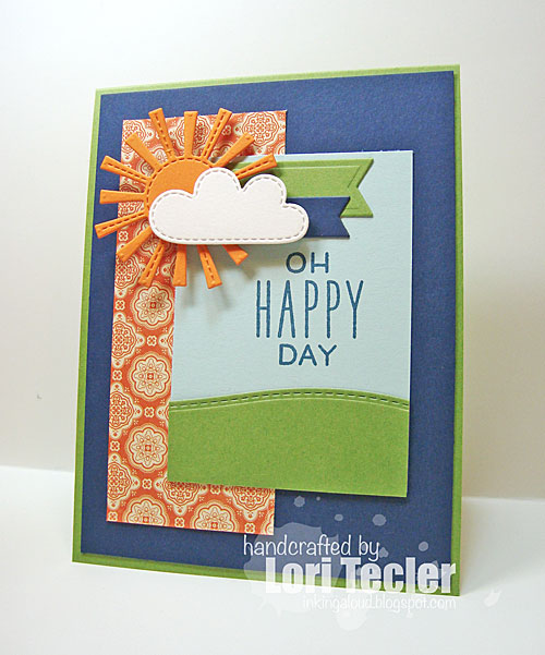 Oh Happy Day card-designed by Lori Tecler/Inking Aloud-stamps from Lawn Fawn