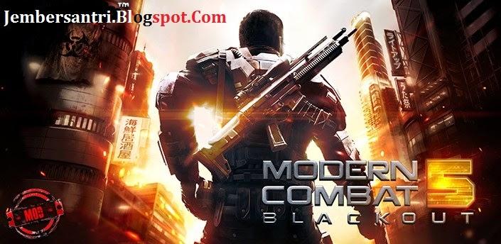 Modern Combat 5 Blackout v1.2.0o APK + MOD + Data for Android
