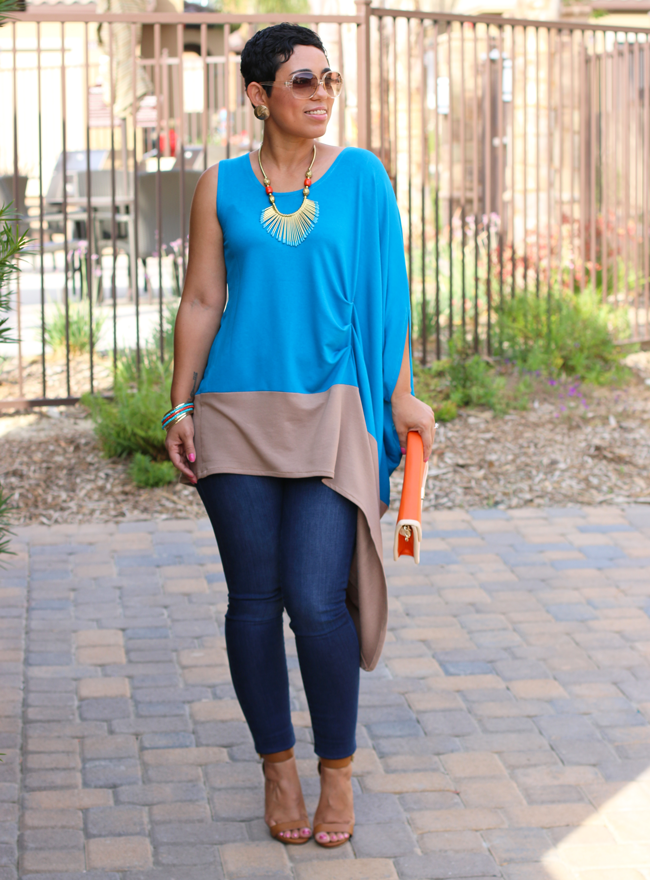 Sew along tutorial color blocked top fashion lifestyle and diy