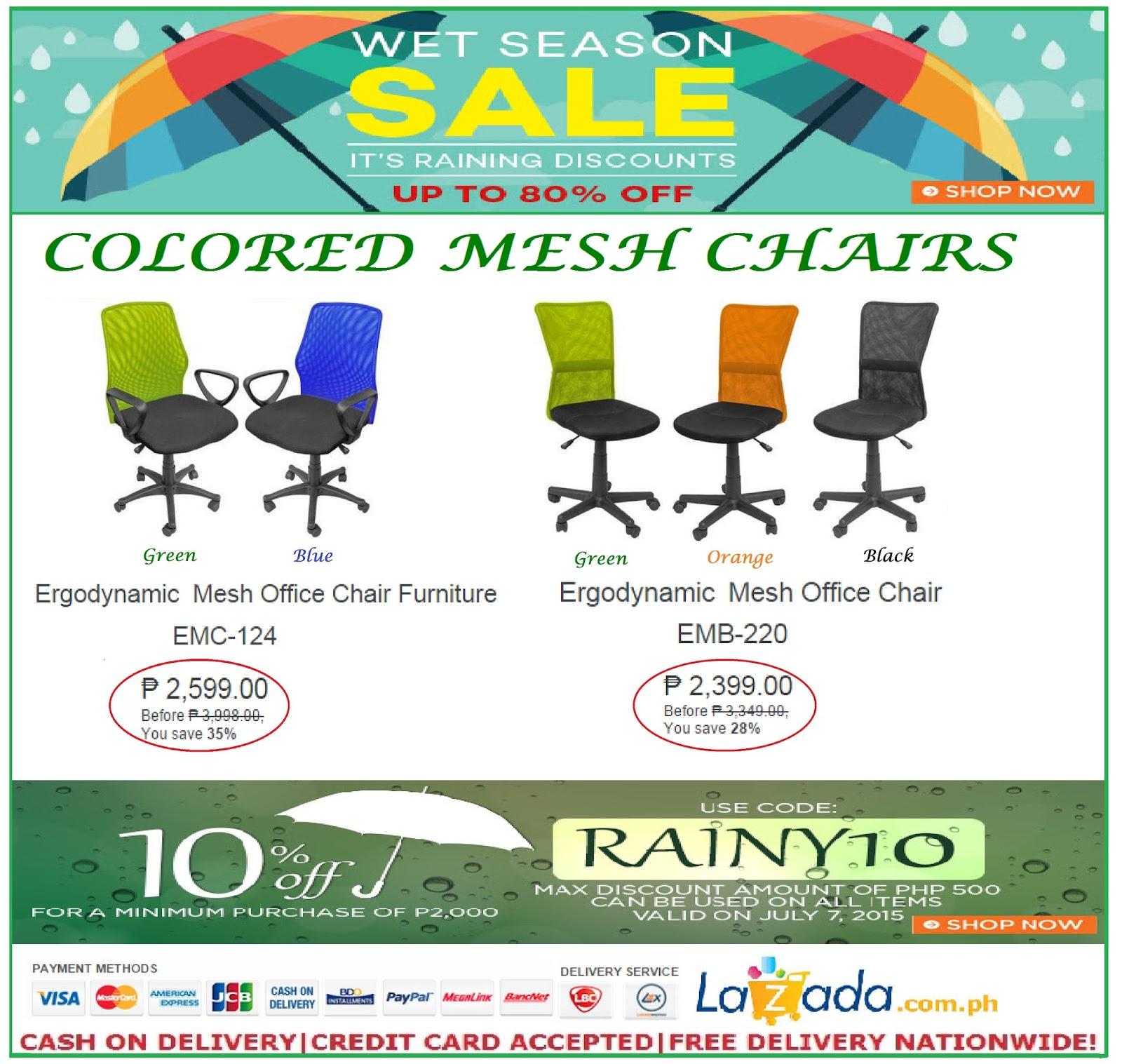 Office Furniture Office Chair Sale On Lazada Wet Season Promo