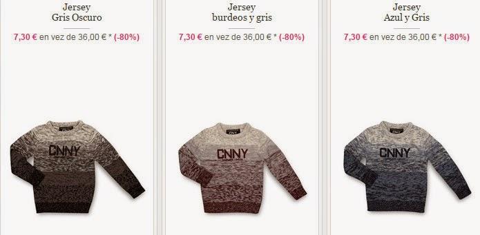 Hazte con un jersey para niño por menos de 10 euros